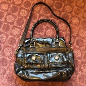 Kate Spade Black Patent Leather Handbag
